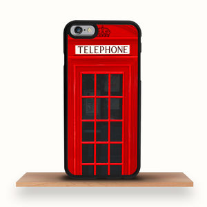 Telephone Box iPhone Case - men's accessories