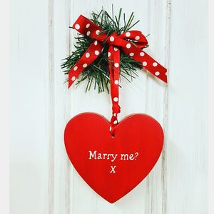 Marry Me Proposal Heart