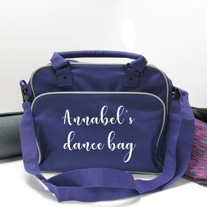 Personalised Fitness Bag
