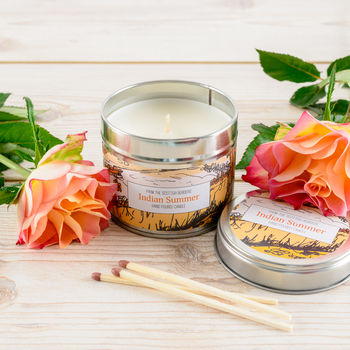 Indian Summer Citrus Scented Candle