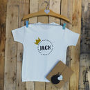 Personalised Crown Baby T Shirt
