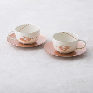 Handmade Espresso / Turkish Coffee Cups 'Tulip' - dining room