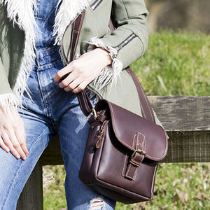 Leather Crossbody Bag - cross-body bags