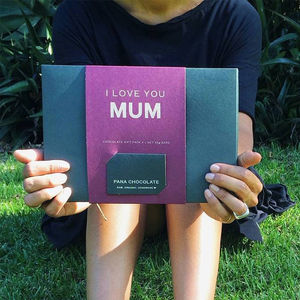 'I Love You Mum' Chocolate Gift Pack - chocolates & confectionery