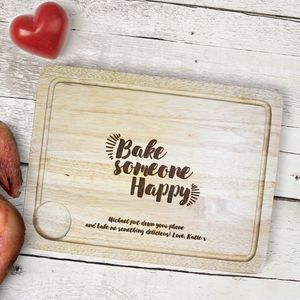 Personalised Mother's Day Carving Board - what's new