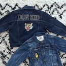Kids Personalised Denim Jacket Classic