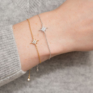 Slider Clasp Starburst Bracelet - new season