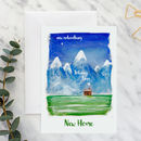 Personalised New Home New Adventures A5 Card