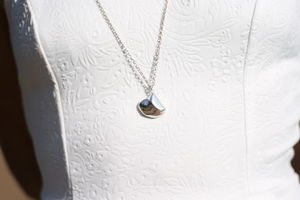 Infinity Shell Long Necklace