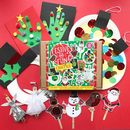 Personalised 'Festive And Fun' Christmas Craft Kit
