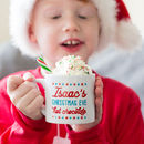 Personalised Kids Christmas Eve Mug