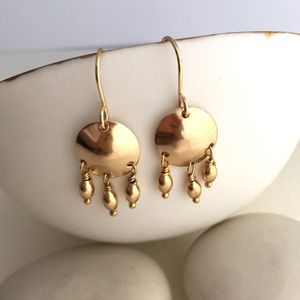 Greek Drop Earrings - shoreline wedding trend