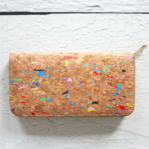 Colourful Cork Purse