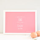 Personalised Baking A4 Print, Choose A Quote