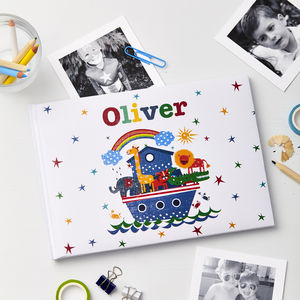 Child's Personalised Noah's Ark Photo Album