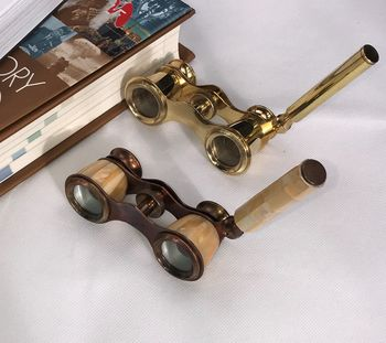 Vintage Binoculars With Handle