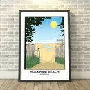 Holkham Beach, Norfolk Print