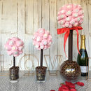 Personalised Valentines Marshmallow Love Heart Tree