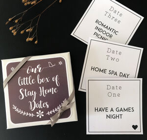 Stay Home Date Night Box
