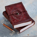 Handcrafted Indra Xl Stoned Leather Journal