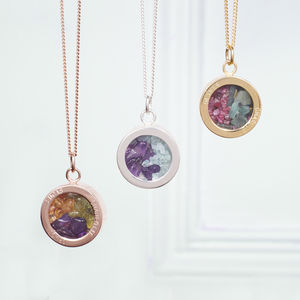 Personalised Mixed Birthstone Locket - bridal edit