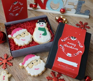 Christmas Luxury Biscuit Box