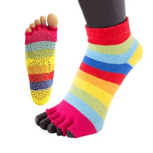 Anti Slip Sole Open Toe Socks - socks