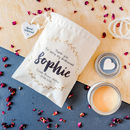 Personalised 'Thank You Bridesmaid' Candle In Gift Bag