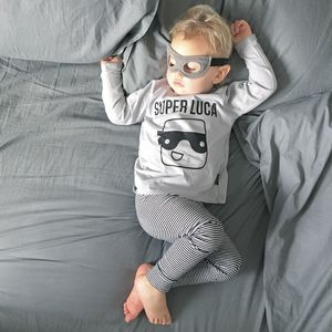 Personalised Super Hero Long Sleeve Top - whatsnew