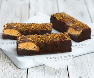 Personalised Kinder Hazelnut Brownie Box - new in food & drink
