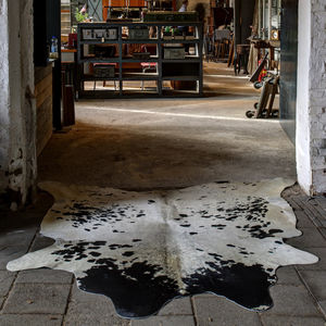 Cow Hide Floor Rug - office & study
