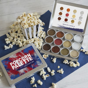Dad's Make Your Own Personalised Popcorn Seasoning Kit - best father's day gifts