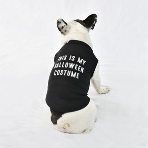 'Halloween Costume' Halloween Pet Dog Vest - pet clothes & accessories