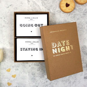 Date Night Idea Cards - little gestures of love