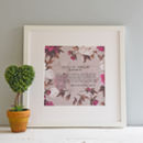 Personalised Maid Of Honour Poem Print