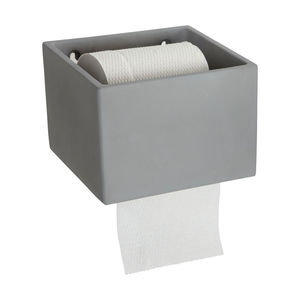 Concrete Loo Paper Holder - bathroom