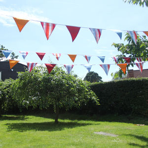 Garden Party Bunting - room decorations