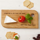 Personalised Oak Serving Board