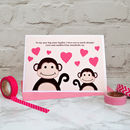 Big Sister New Baby or Birthday Card - Personalise with your own wording