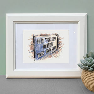 Personalised Favourite Place Illustration - drawings & illustrations