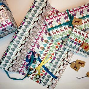 Allegretto Animals Wrapping Paper - ribbon & wrap