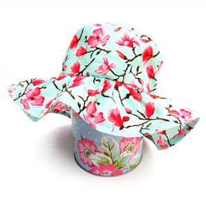 Baby's Summer Hat In Floral