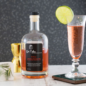 Strawberry, Rosemary And Lime Gin - wines, beers & spirits
