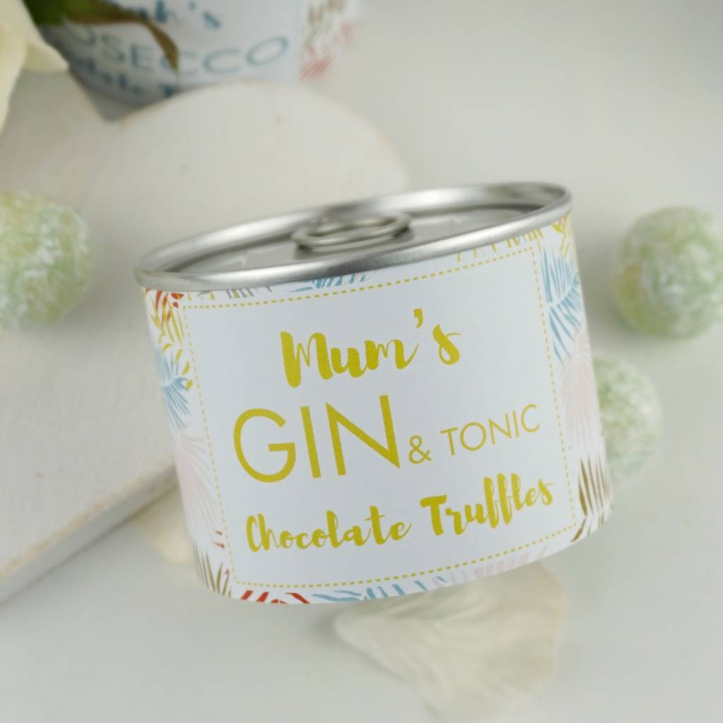 Gin And Tonic Chocolate Truffle Tin