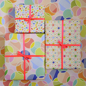 Spot Print Wrapping Paper, Gift Wrap Collection - wrapping paper