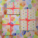 Spot Print Wrapping Paper, Gift Wrap Collection