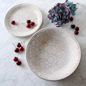 Concrete Embossed Displayware