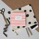 'Thanks' Stripes Thank You Card