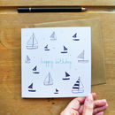 Birthday Boats Card