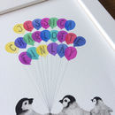 personalised balloon print